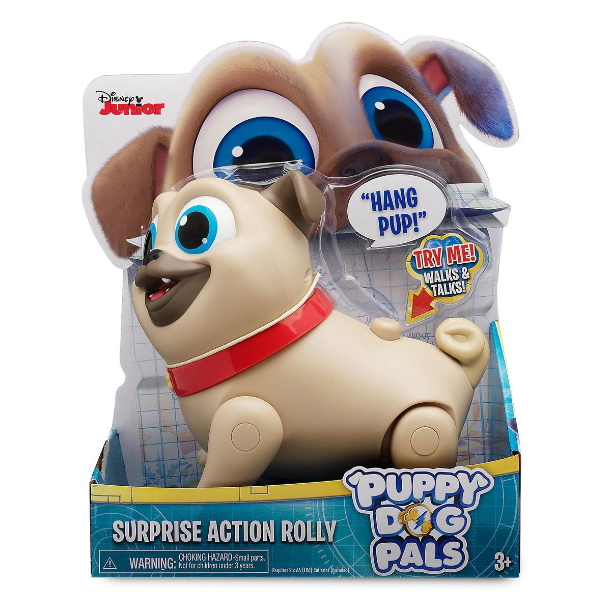 Rolly Surprise Action Toy Puppy Dog Pals Toy Puppies Dogs