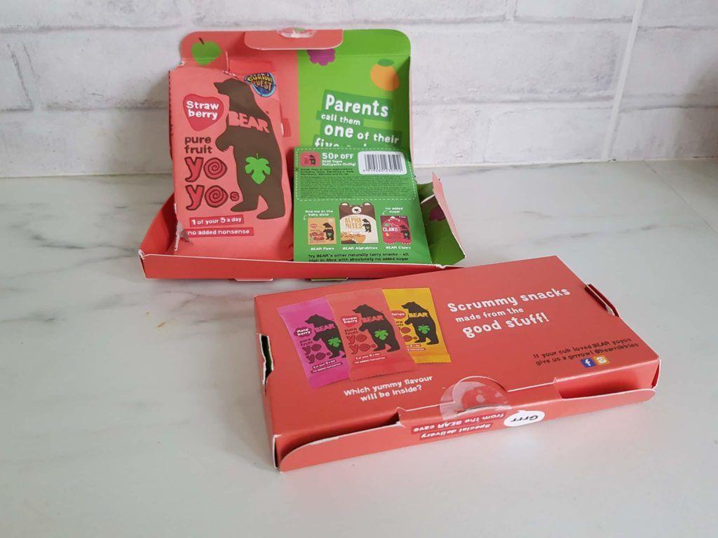Free bear yo yo snacks (fruit snacks) Kids snacks, Snacks