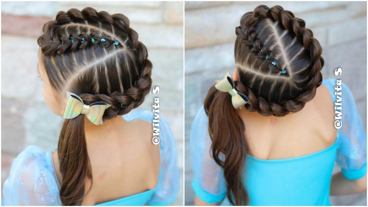 Imagen perfecta peinados bonitos y faciles Fotos de tendencias de color de pelo - Trenza Pull Through Con Ligas Peinados Faciles Y Bonitos