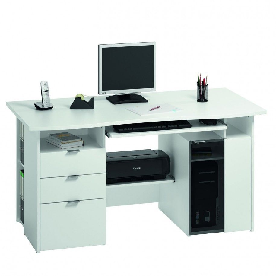 Likeness Of 4 Recommended Desks With Printer Storage Printer Storage Computer Desks For Home White Computer Desk Computer desk with printer storage