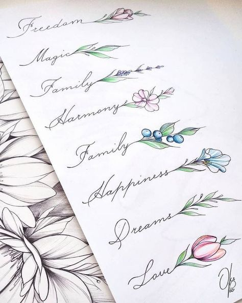 "⚀ TATUAGENS - IDEIAS on Instagram: ""🛑Pra quem curte uma escritinha com estilo!❤ . 👉Sigam: @tatuagensideiasblog . . #tatuagensfemininas #instatattoo #tatuagemsp #tattoo…"""