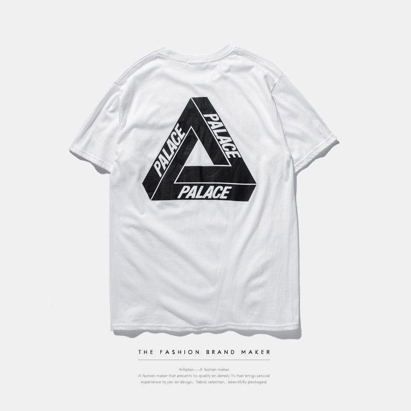 49da090bcb2f Palace t shirt 3M Reflective Hip Hop Street Palace Skateboards Suprem t- shirt Original Harajuku High Quality Fashion tees