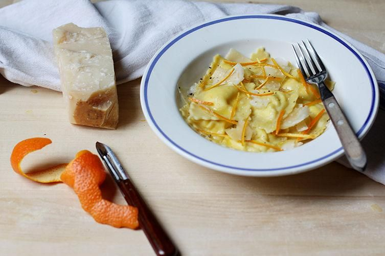 Orange and Ricotta Ravioli recipe: These orange-scented ravioli are as simple as can be. #food52