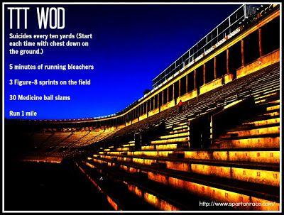 Stadium workout!