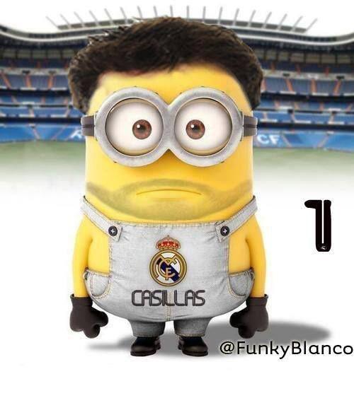 Casillas minion hahaha