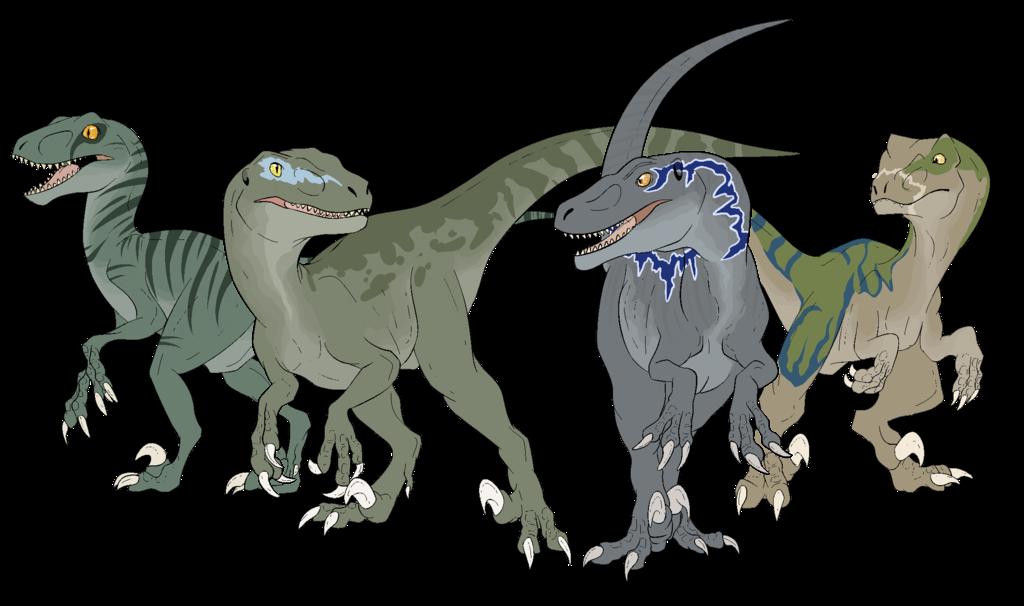 FA] Raptor Squad by BRlCK.deviantart.com on @DeviantArt   Ark ...