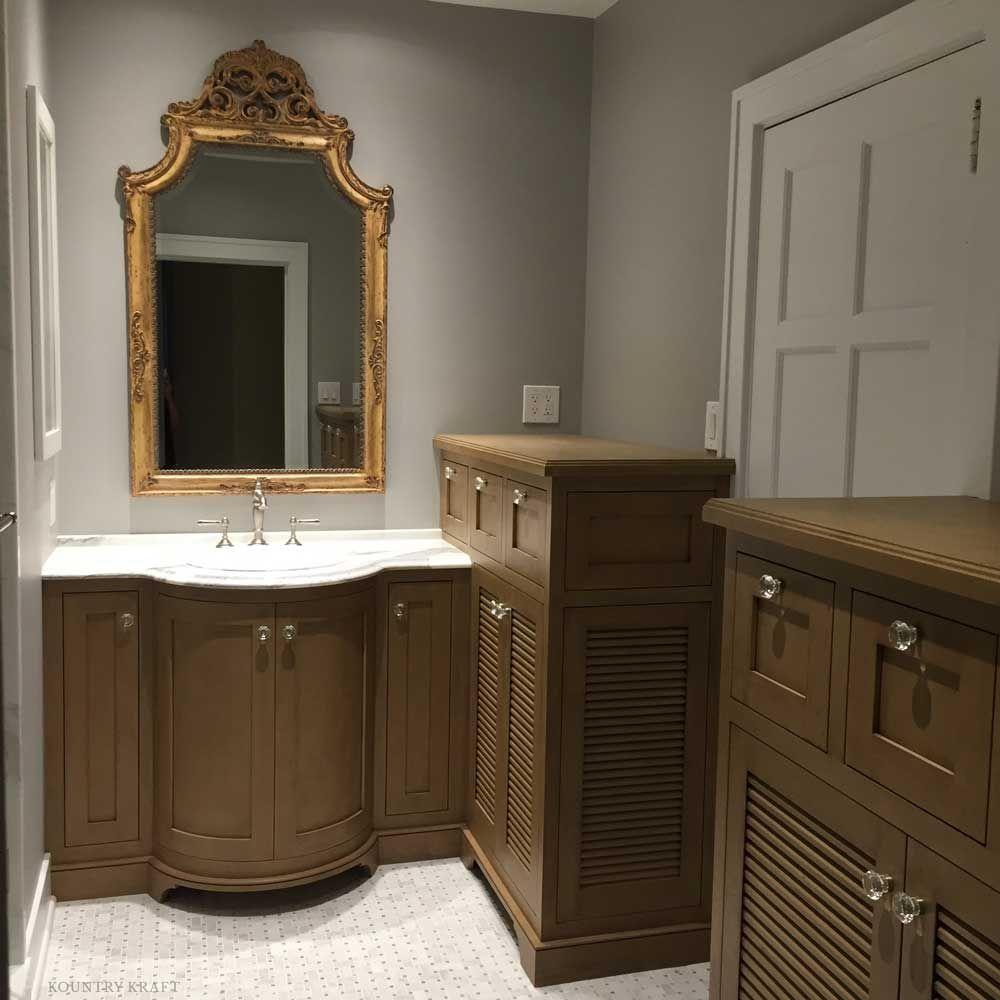 Bathroom Vanity Cabinets Featuring Sink Mirror And Alder Wood - Bathroom vanities pittsburgh