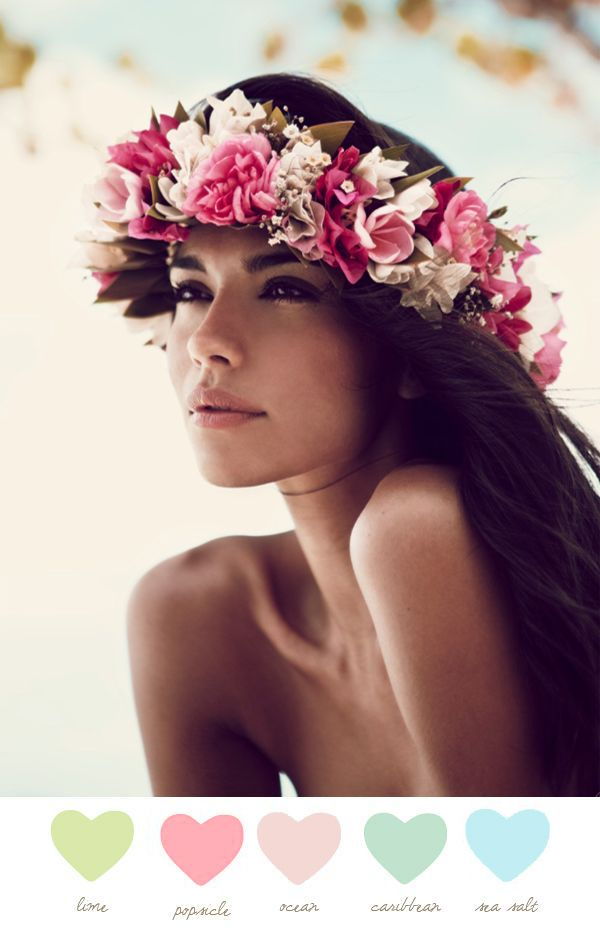 793a9bbcfaa2b8 Shades Of Tahiti Flower Crowns