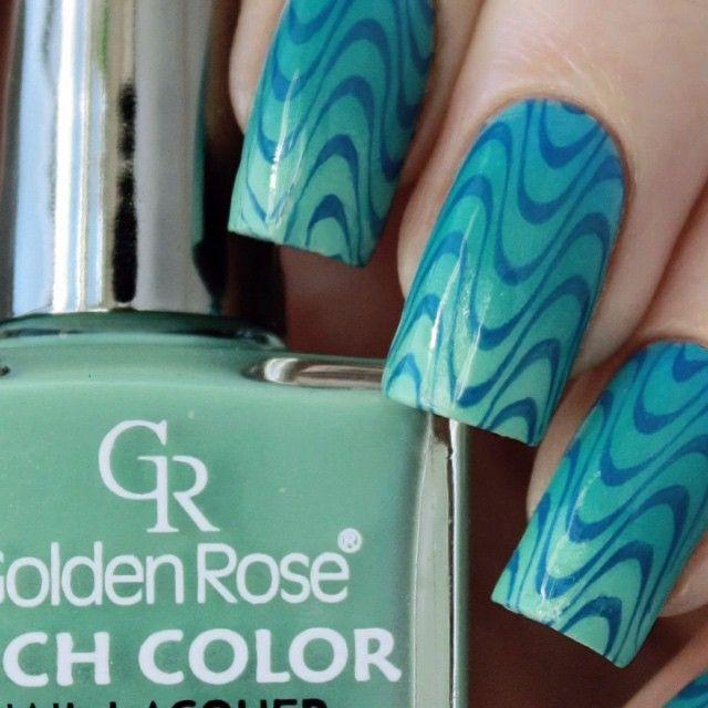 Gradient Nail Design Stamping Tutorial Nail Stamping Designs