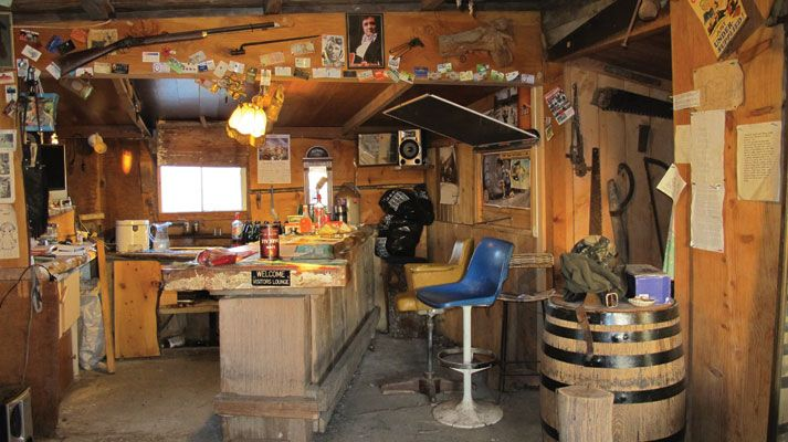 Storage Shed Man Cave Ideas : A space to call his own men cave man caves and