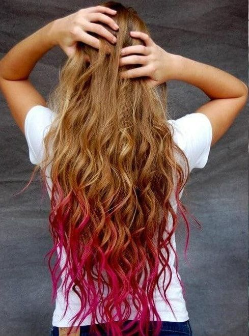 29 Hair Dyes Awesome Ideas For Girls Dip Dye Hair Best Hair Dye