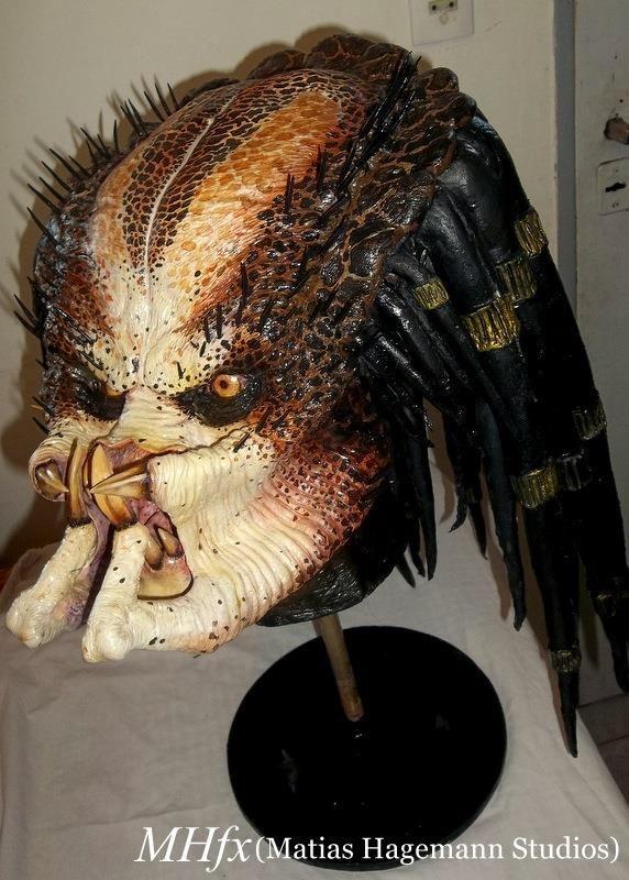 Depredador clásico de jungla (busto finalizado)!!!!  Classic jungle Predator (finished bust)by Matías Hagemann!!!!