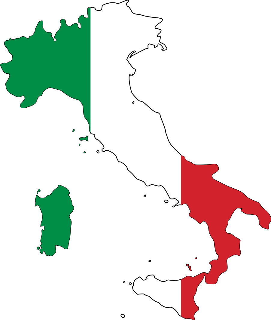 Italy On My List Of Places I Want To Eventually Go For Sure I Fell In Love With The Notion Of Wanting To Go There Italian Flag Italy Flag Learning Italian