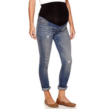 3022a5b49ea4d a.n.a® Maternity Jeggings - Plus found at  JCPenney