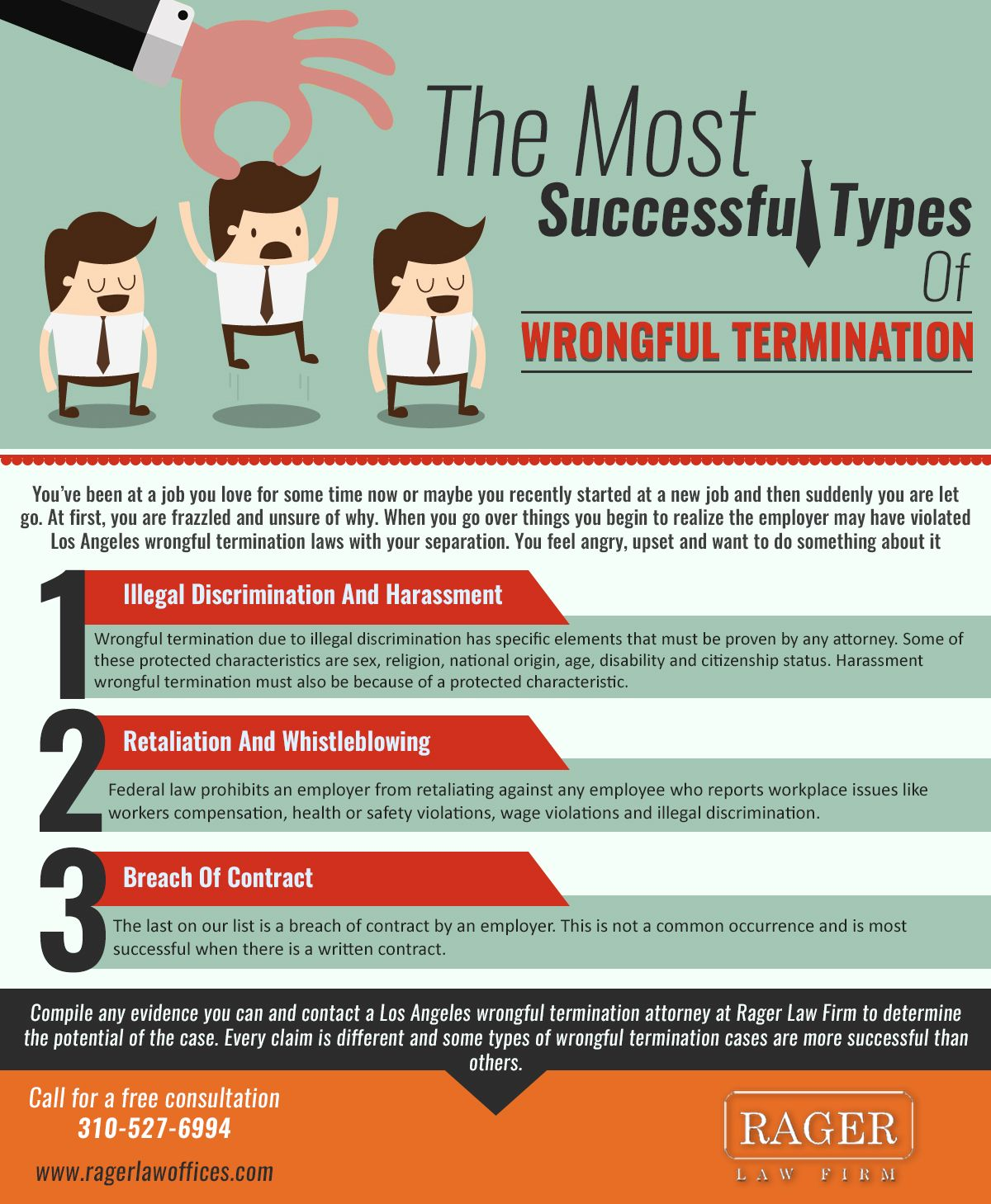 Every Claim Is Different And Some Types Of Wrongful Termination