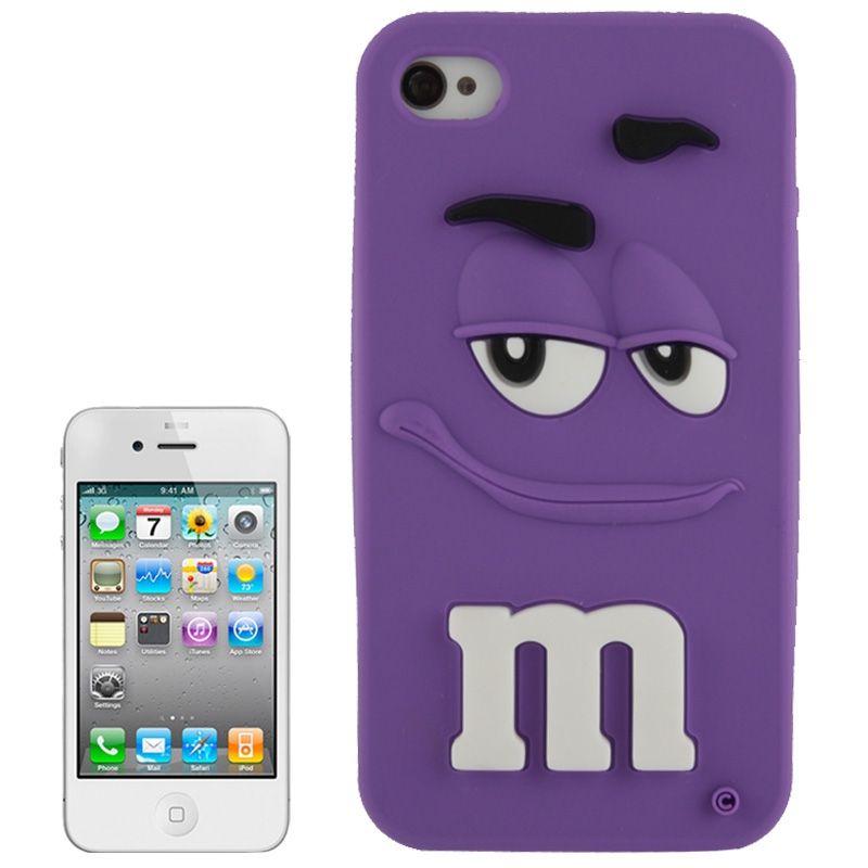 coque iphone 6 mnm's silicone