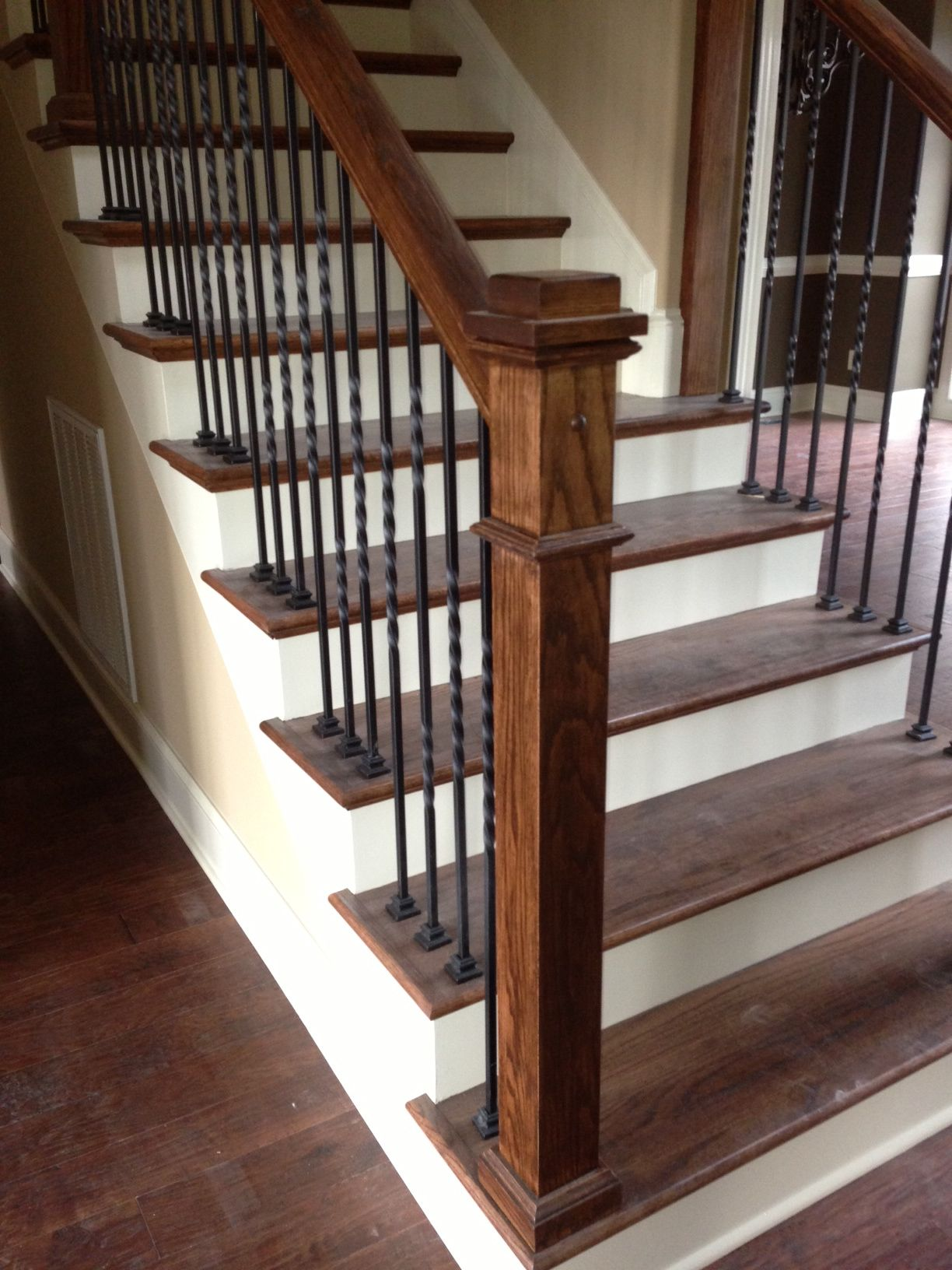 Stair Railing  Love The Dark Spindles
