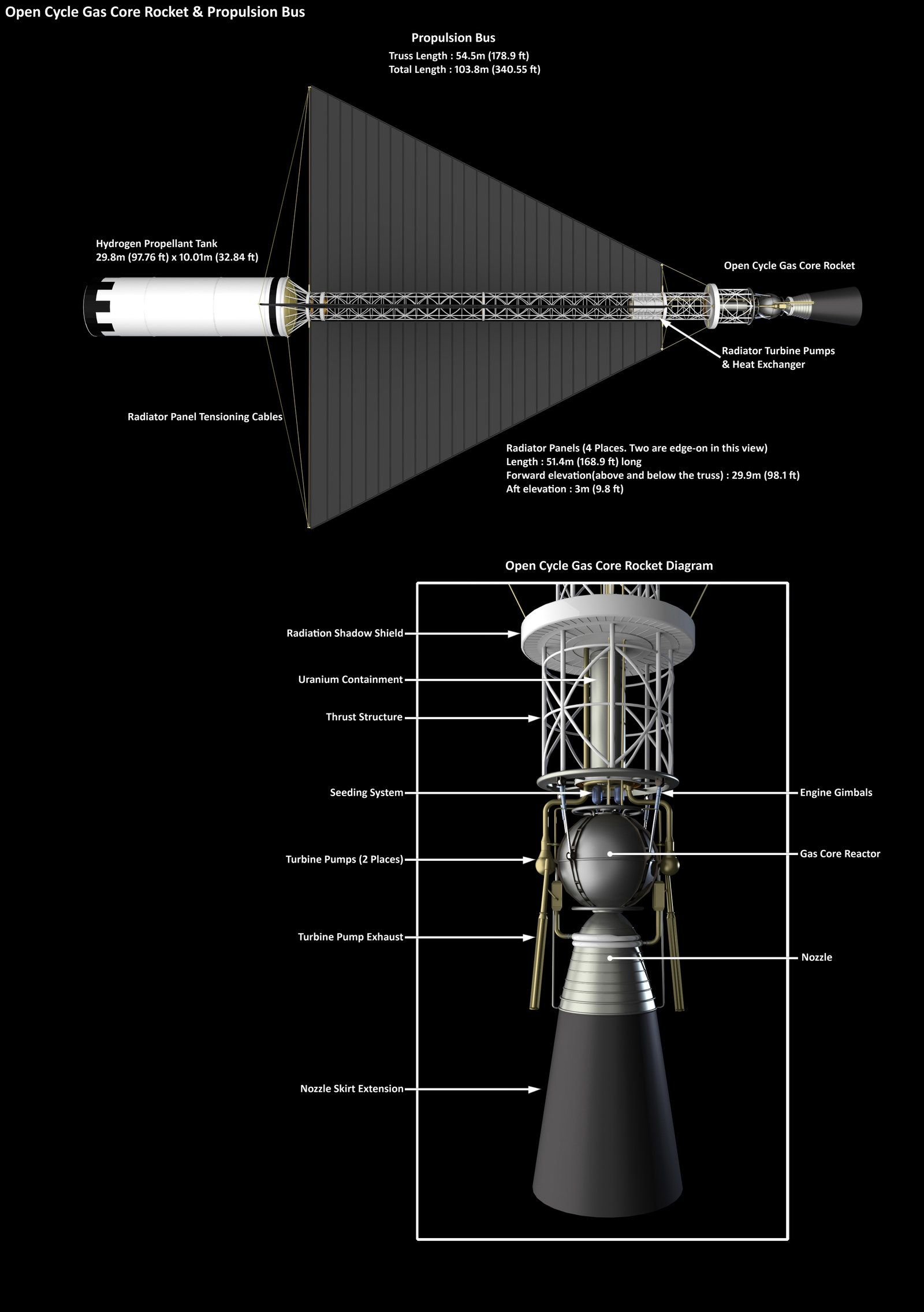 Open Cycle Gas Core Nuclear Thermal Rocket By William Black On Engine Diagram Deviantart
