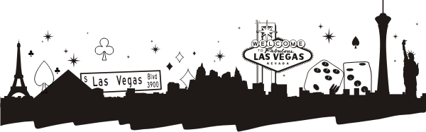 Las Vegas Skyline Google Search Las Vegas Skyline Siluetas