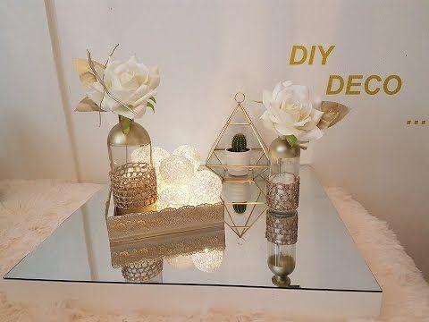 Diy 4 Objets Deco Cuivre Dentelle Youtube Mason Jars