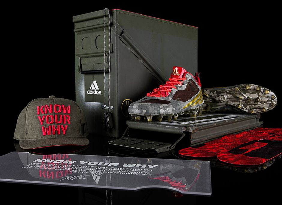 Smart @adidas drops first version #TheRGIII to support Veterans on #VeteransDay Sweet cleats, great marketing #PR