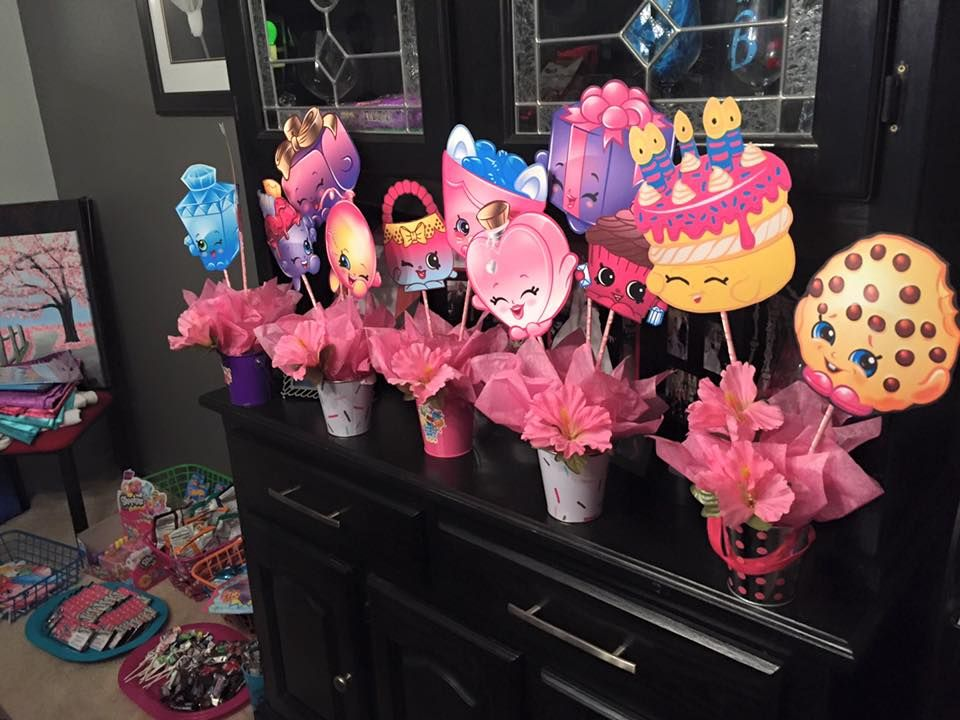 Diy Centerpieces With Shopkins Clipart Shopkins Birthday Party Shopkins Birthday Birthday Party Tableware