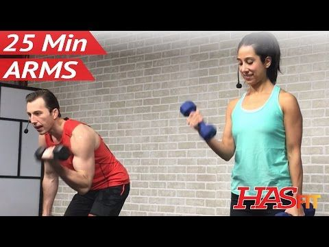 25 Min Arm Workout For Women Men