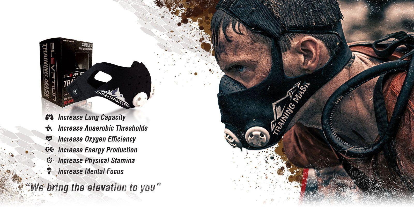 Elevation Training Mask Europe - Simulates High Altitude Training