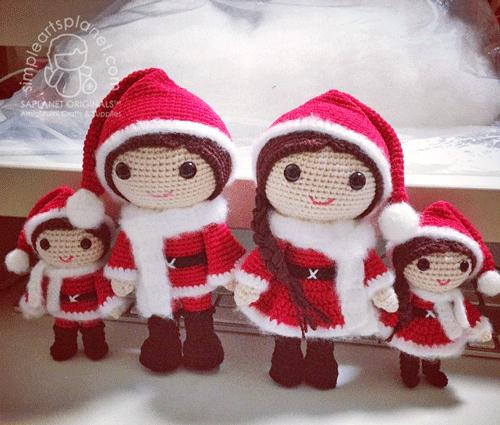 Amigurumi Christmas Lovers Julius & Juliane - saplanet originals™