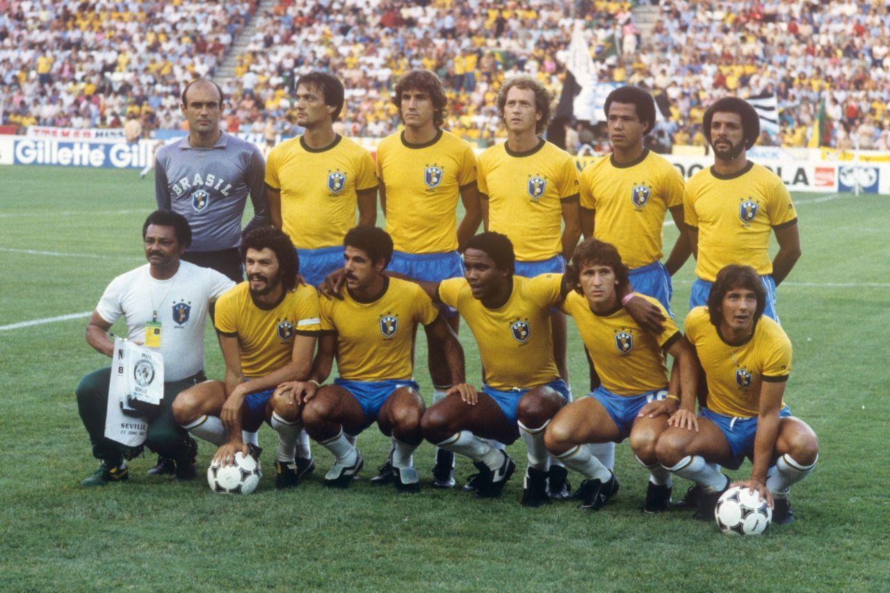 Selección brasileña que se enfrentó en la Copa del Mundo
