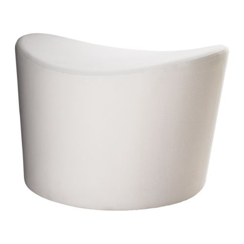 Ikea stockholm footstool r st nga white the price for Ikea article number