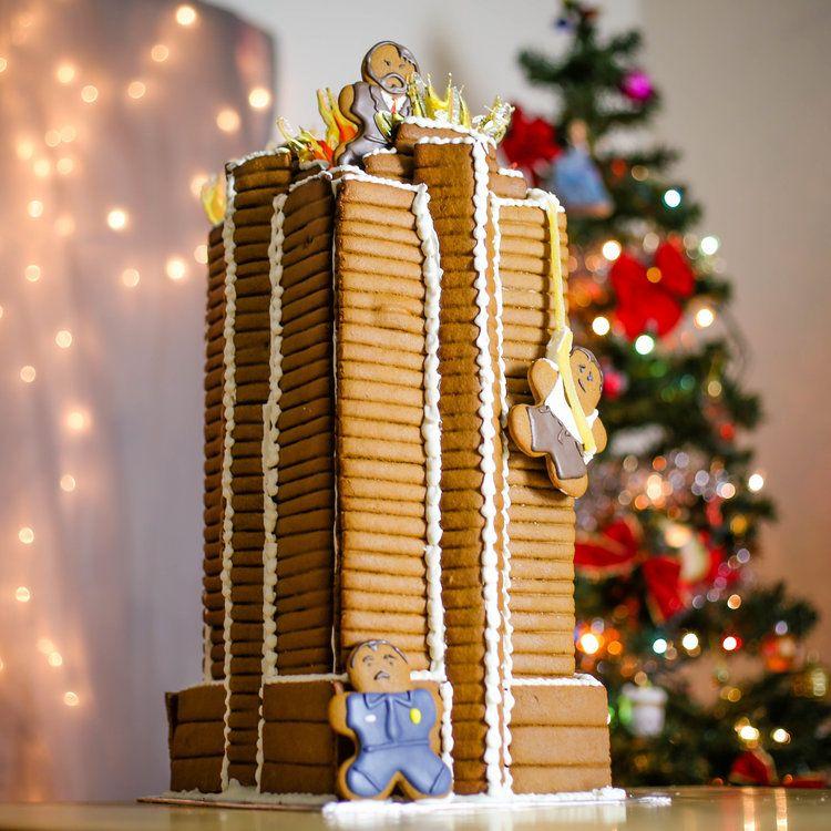 Tips Tricks Nakatomi Gingerbread Plaza Sugared Nerd Die Hard Christmas Affordable Christmas Decorations Holiday Season Christmas