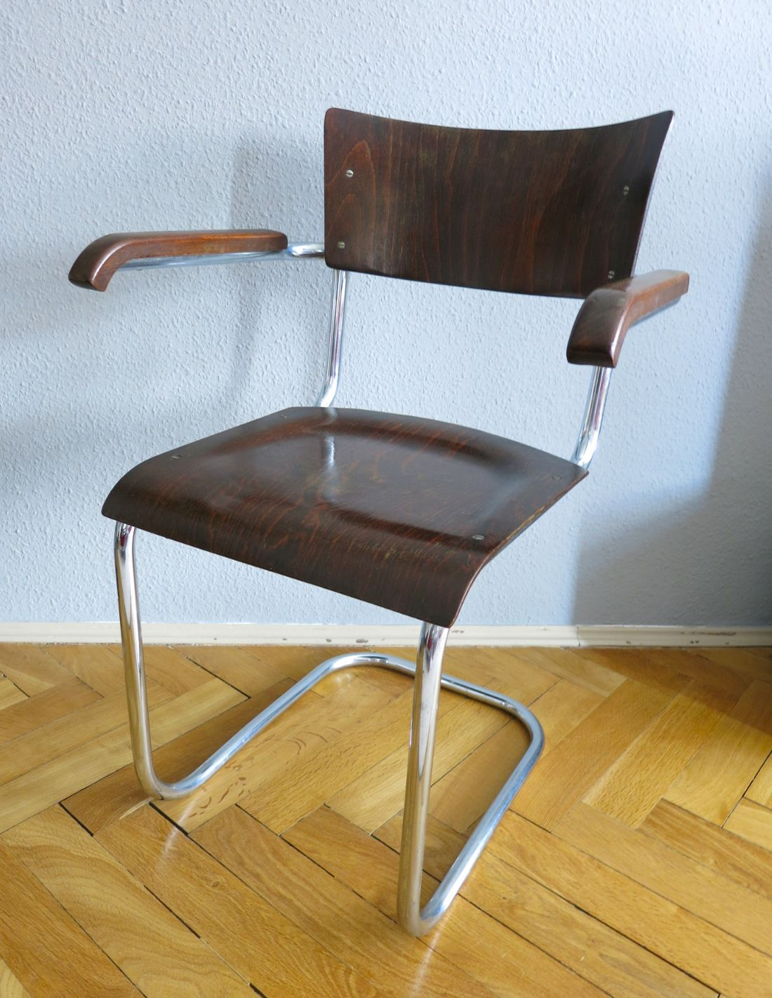 Armlehnstuhl Modern Mart Stam Cantiliver Chair | Chair, Cantilever Chair, Steel Furniture