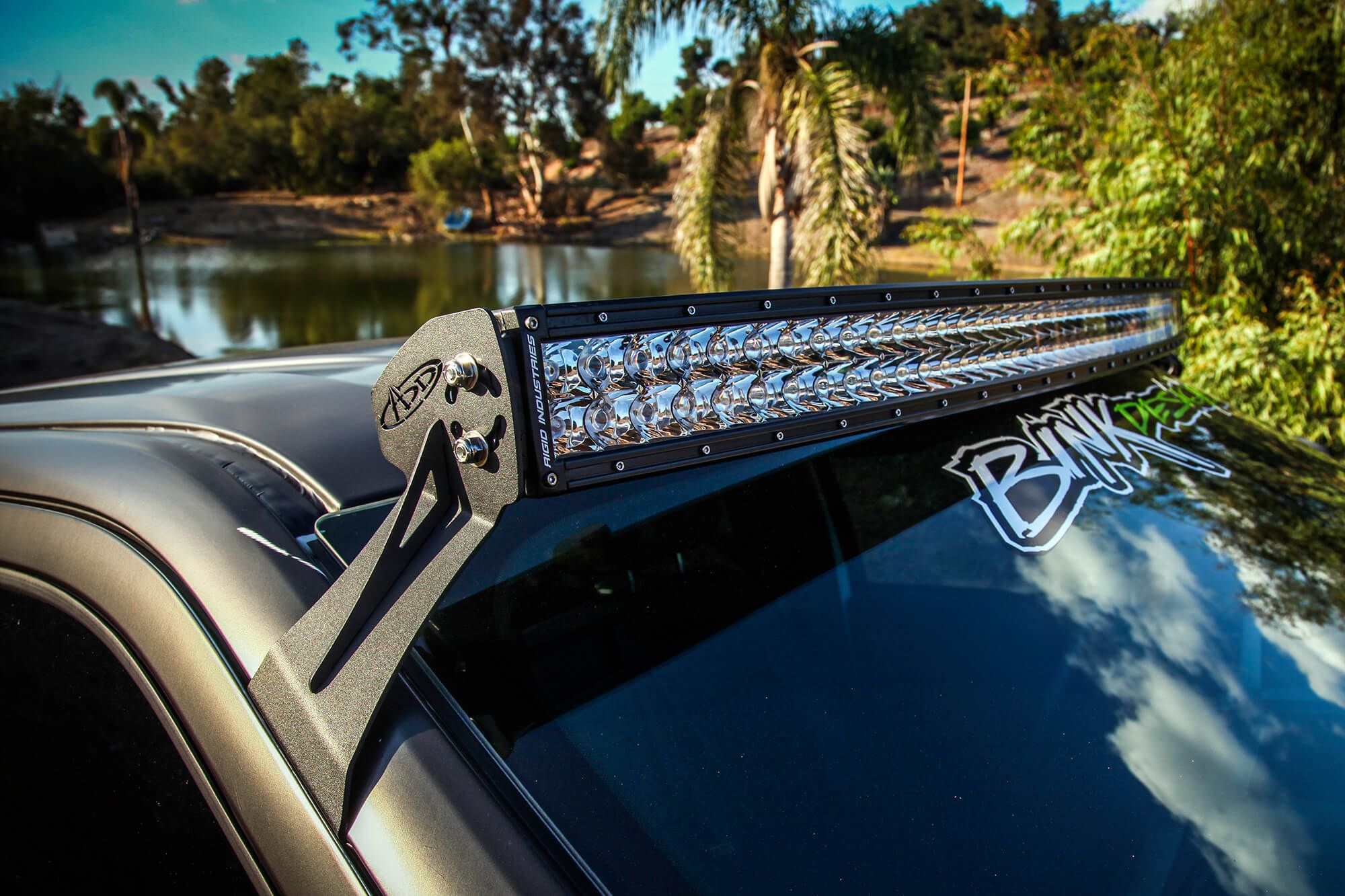 Addictive desert designs 54 light bar roof mount for your ford f addictive desert designs 54 light bar roof mount for your ford f 150 mozeypictures Choice Image