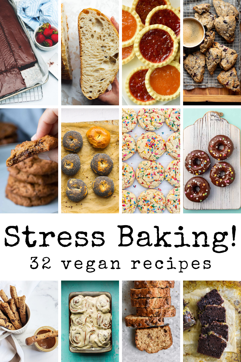 32 Stress Baking Recipes What Bloggers Are Obsessed With Healthyhappylife Com In 2020 Baking Recipes Dairy Free Recipes Vegan Recipes Easy