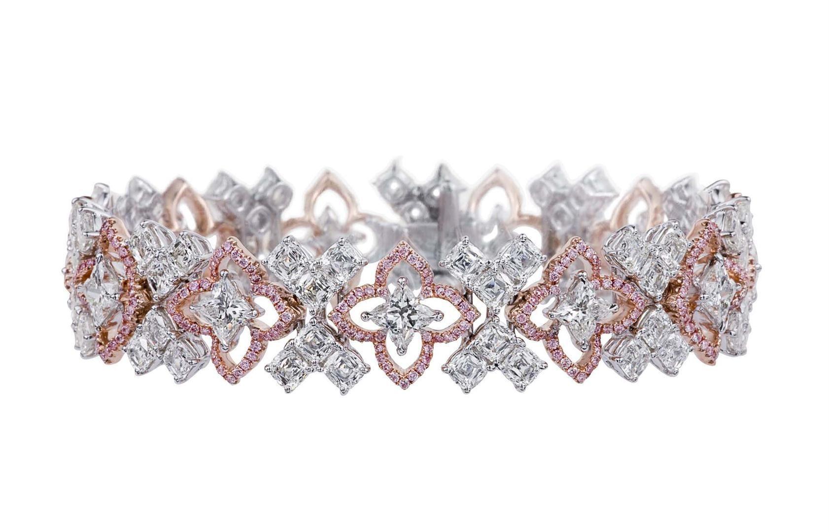 Orchidea Cut® Bracelet by Lili Jewelry #beauty #love #diamonds #lilidiamonds #orchidea