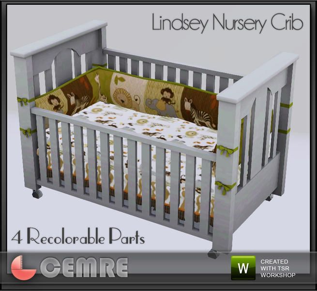 Cemre S Lindsey Nursery Collection Crib Sims 3 Downloads