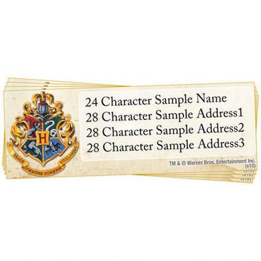 Exclusively Ours These Harry Potter Hogwarts Custom Address