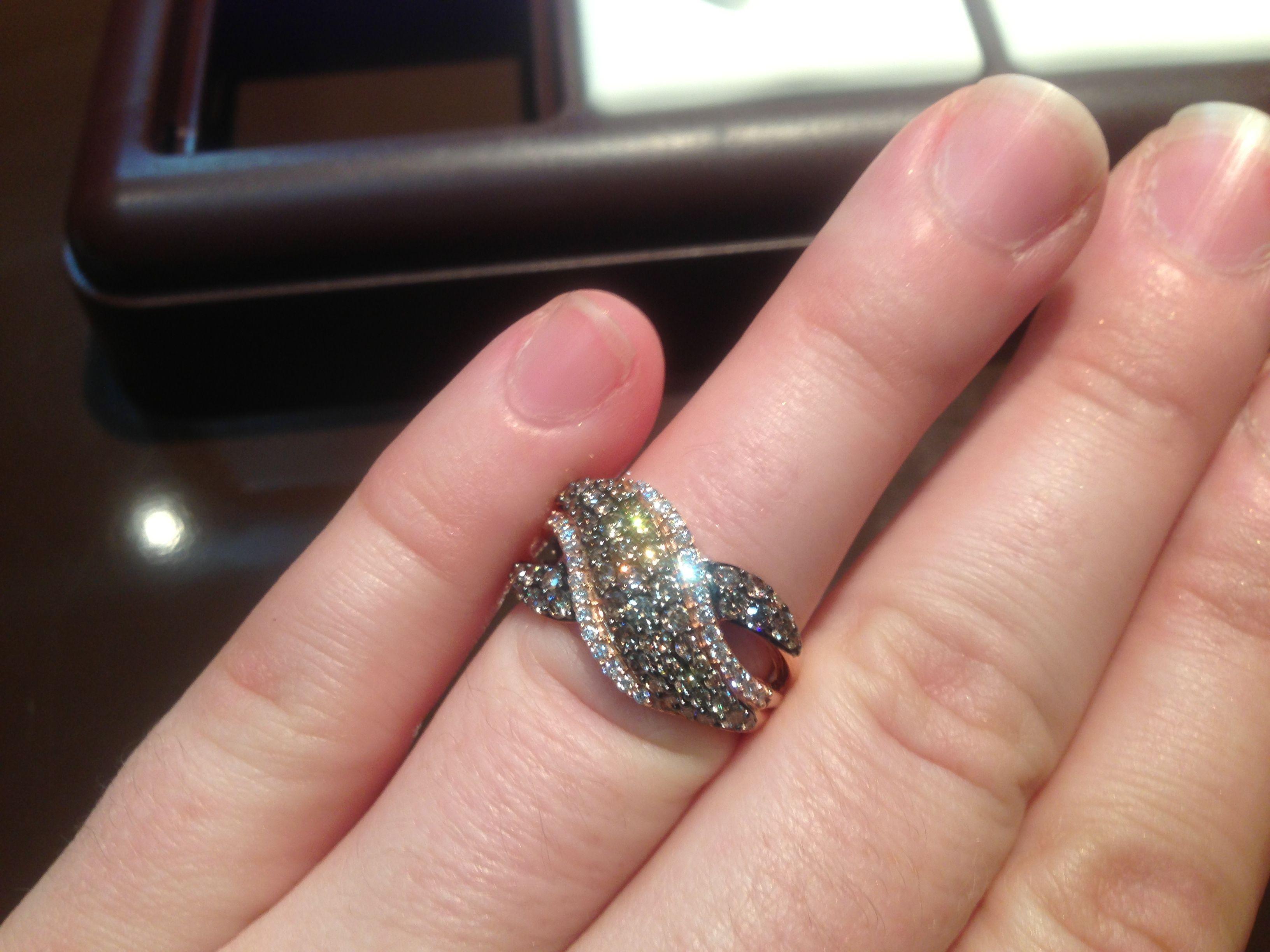 Chocolate diamonds at Ben Garelick! | Baubles | Pinterest | Le vian ...
