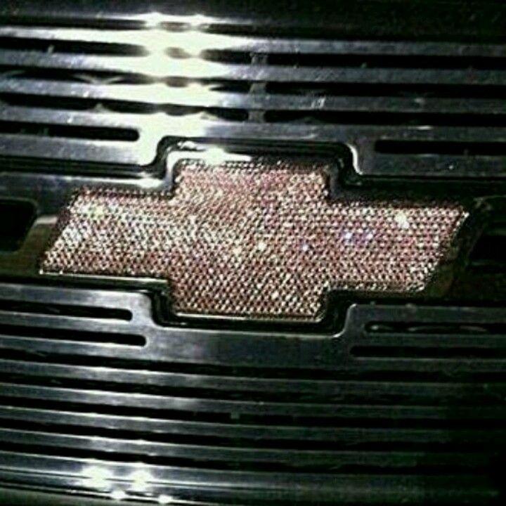 pink bedazzled chevrolet bowtie emblem | Miscellaneous ...
