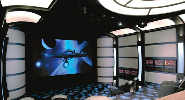 Star Trek Home Theater 2 At Home Movie Theater Home Theater