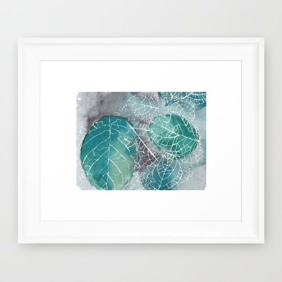 Botanical Watercolor Artwork by: Brush Berry | brushberr.com/botanical-abstract