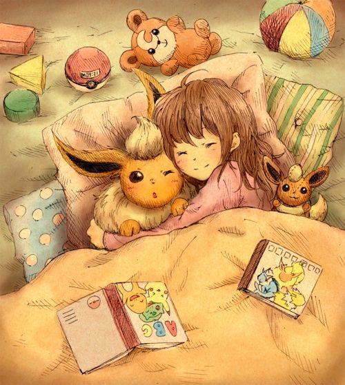 Pokémon - Flareon love <3