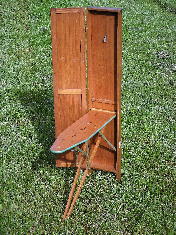 Marvelous Vintage Royal Ironing Board Folding Wood Table Wooden Evergreenethics Interior Chair Design Evergreenethicsorg