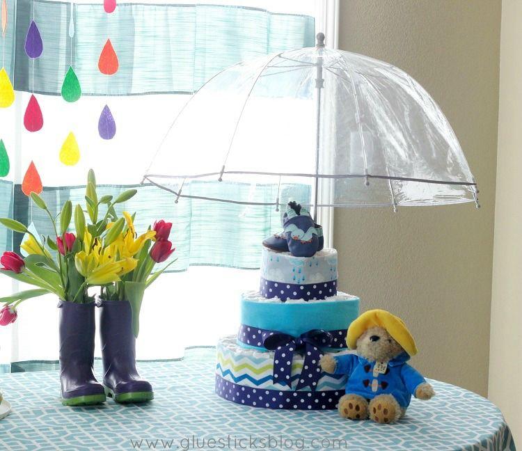 April Showers Baby Shower Theme: Centerpieces, Decor
