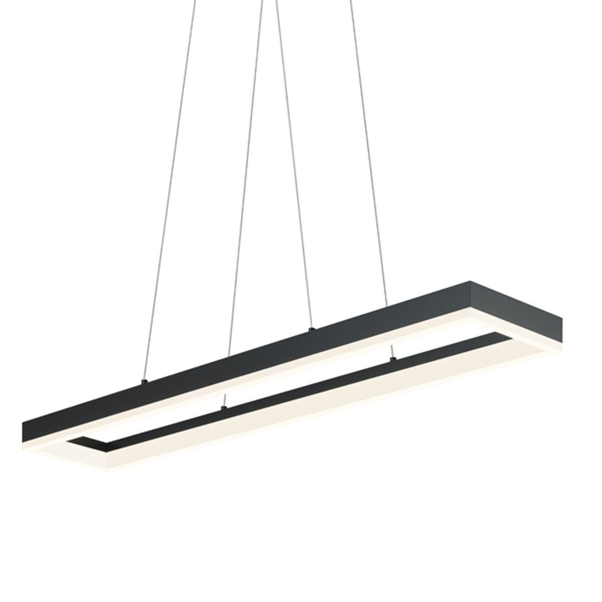 Corona 43 Led Rectangle Pendant Dining Breakfast Nook Ideas  # Muebles Pikeando