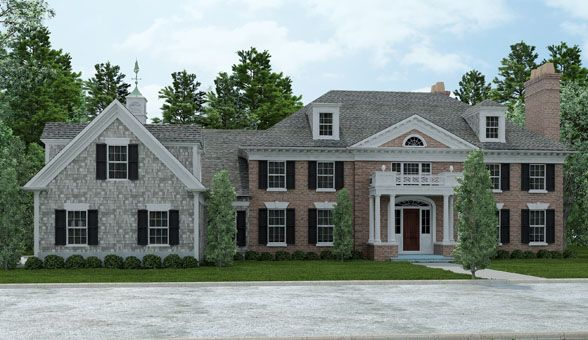 Georgian style home designs