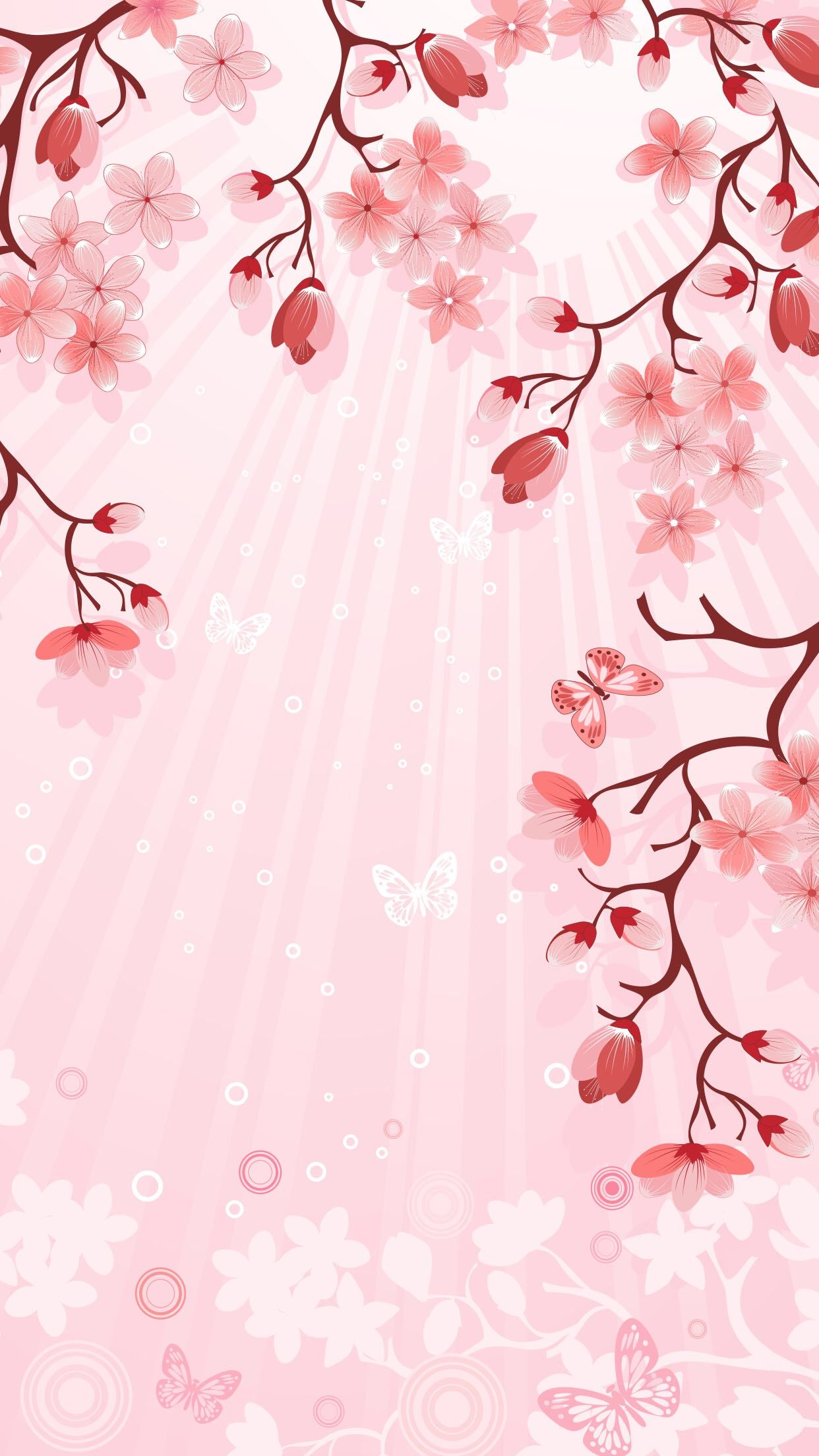 Pin By Kendy Murphy On Backgrounds Pink Flowers Wallpaper Flowery Wallpaper Flower Wallpaper