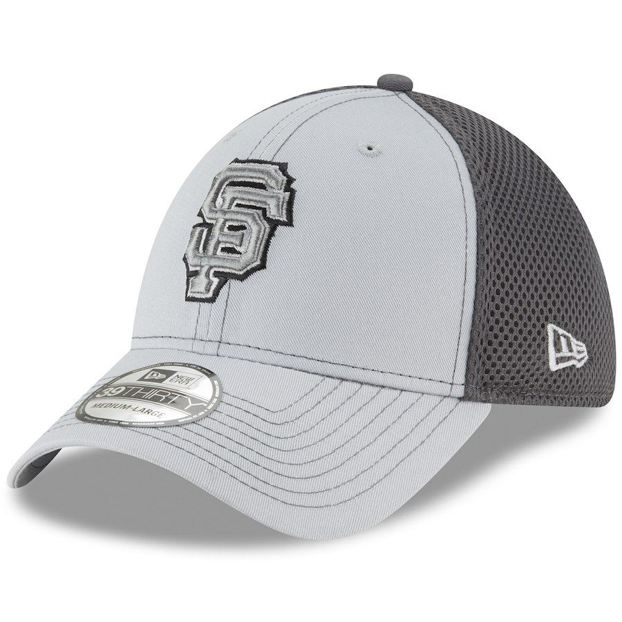 online store a0c6b 6b594 Men s San Francisco Giants New Era Gray Grayed Out Neo 39THIRTY Flex Hat,  Your Price   25.99