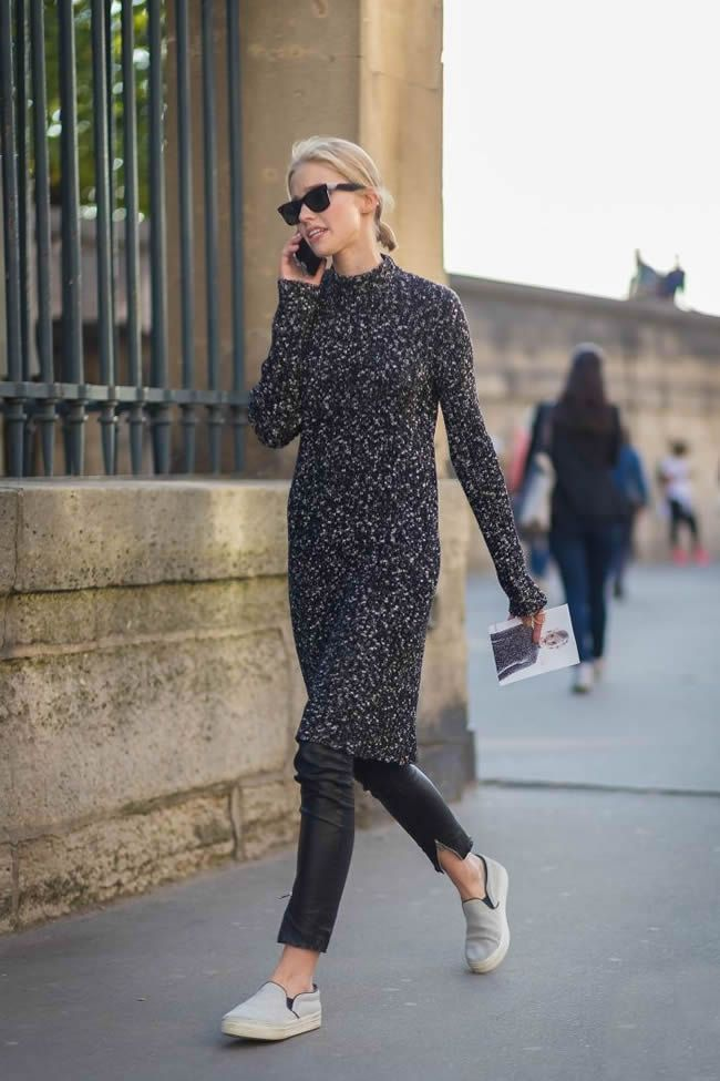 Ways to Style Your Sweater Dress this Winter - DesignerzCentral